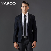 TAPOO 2017 new autumn and winter males's style model British informal Slim go well with males's enterprise males's coat 805