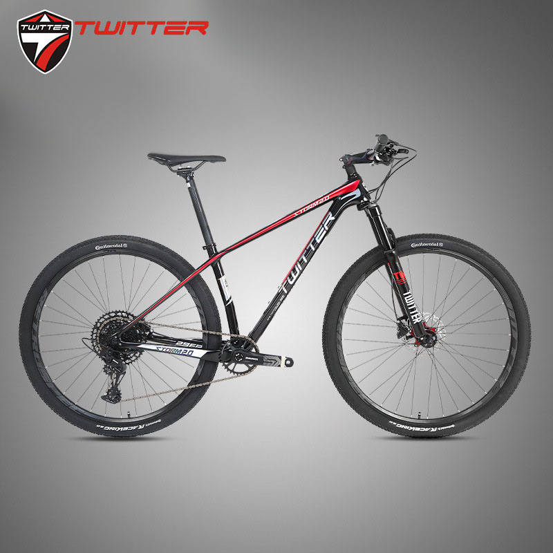 Twitter Carbon MTB 29 27.5er Storm2.0 Mountain Bicycle SX 12 Speed Discolored XC Off-road Bike Inner Cable Stoving Varnish ESP