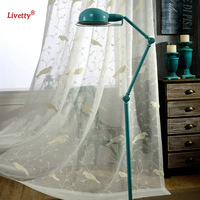 High Grade Sheer Curtains For Bedroom Embroidered Birds Blinds Drapes Chinese Tulle Window Vorhang Cortinas For