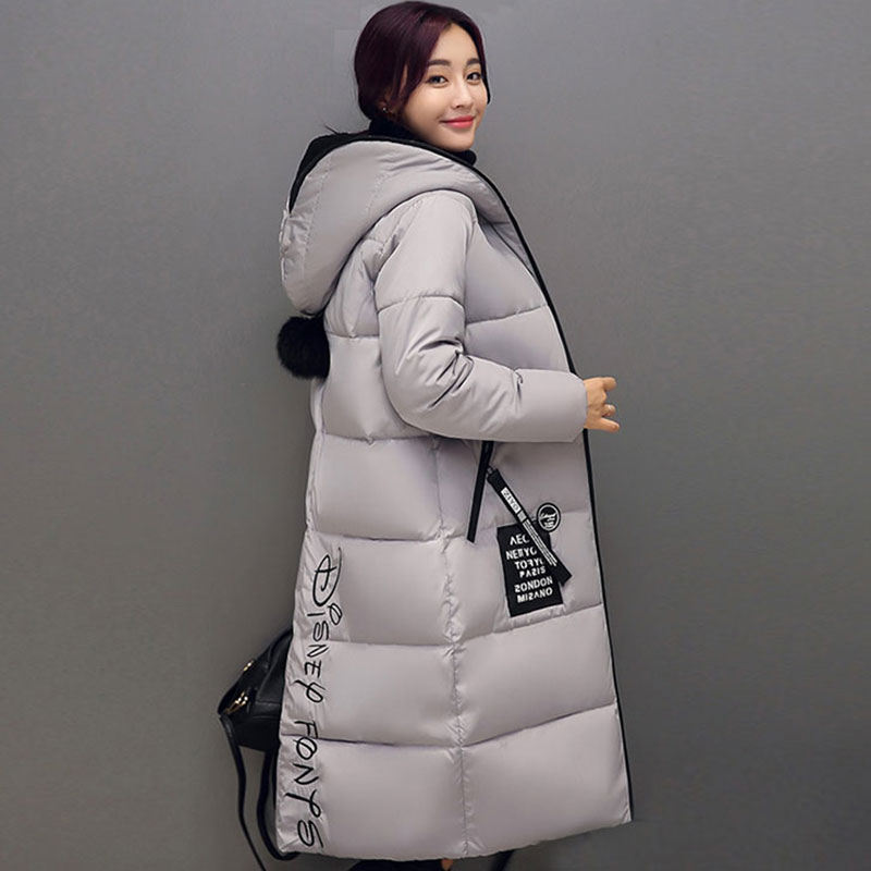 New 2017 Winter Women Coat Long warm Cotton loose Jacket Hooded Wear Outerwear Casual Parka Padde Plus Size Manteau Femme QH0484 winter jacket women pregnant oversized coats thick long parka hooded loose outwear cotton winter coat women manteau femme c3811