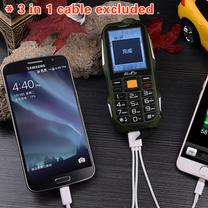 Image 3 - Large Battery Big Power Rugged Mobile Phone Loud Sound Power Bank Torch Large Russian Key Bluetooth Quick Dial Cellphone Gofly