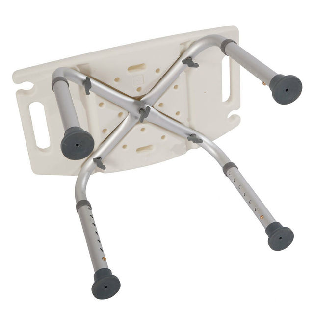 Elderly Adjustable Medical Bath Bench Stool Seat  4