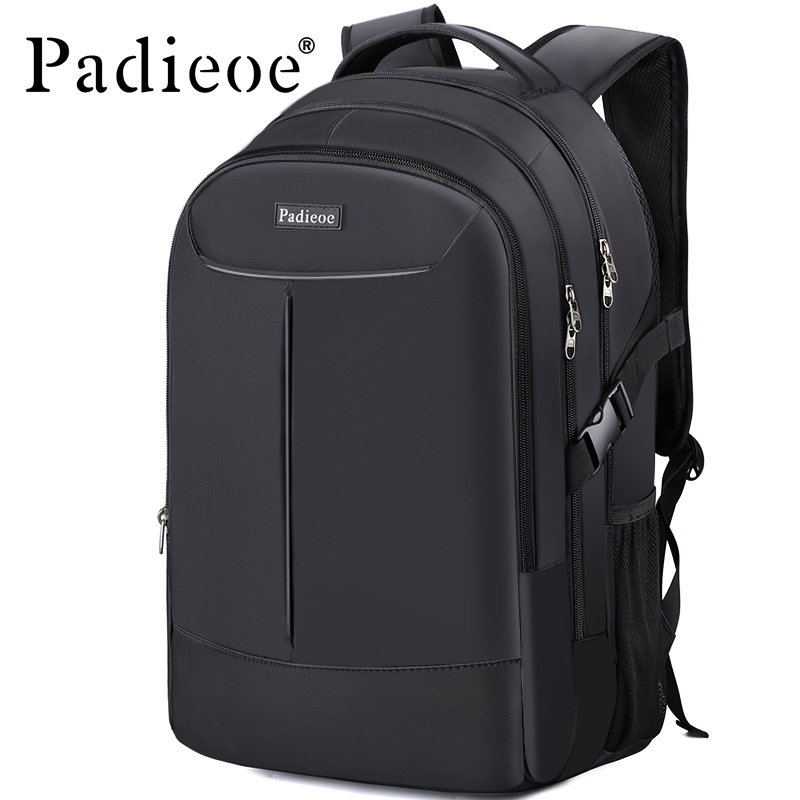 Padieoe Top Quality Nylon Men's Backpack 2017 Fashion Teenager Laptop School Bag Waterproof 16 Inch Notebook Bag Casual Mochila sosw fashion anime theme death note cosplay notebook new school large writing journal 20 5cm 14 5cm