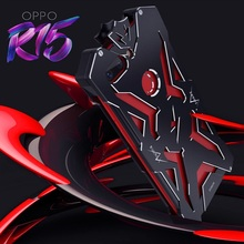 Metal case for OPPO R15New Thor Series case for OPPO R15 Zimon Luxury Aviation Aluminum Phone Case for R15 Powerful Shockproof