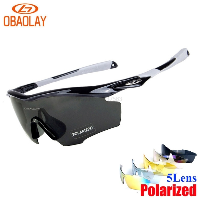e97d2d27222 OBAOLAY Ciclismo Cycling Polarized Glasses Men Women Bicycle Bike Sports  Sunglasses Eyewear Safety Goggle Transparent Glasses