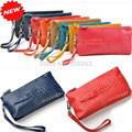 Genuine Leather 2017 Women Handbag Lady Evening Bags Alligator Day Clutch Pocket Designer Many Colors DC47