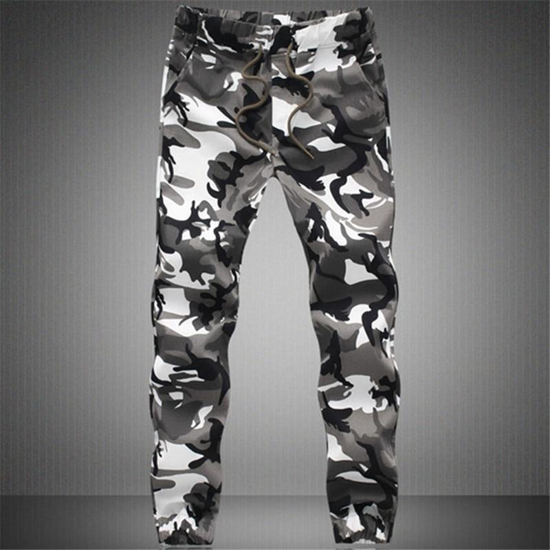 2020 New Joggers Men Casual Camouflage Pants Mens Cotton Comfortable Male Trousers Pantalon Homme Plus Size S-5XL MY091