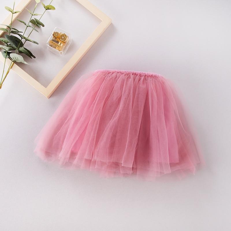 лучшая цена Fashion Girls Tutu Skirt Kids lovely 4 Layers Fluffy Pettiskirt girls skirt ball gown soft tulle for 2-7 Years children
