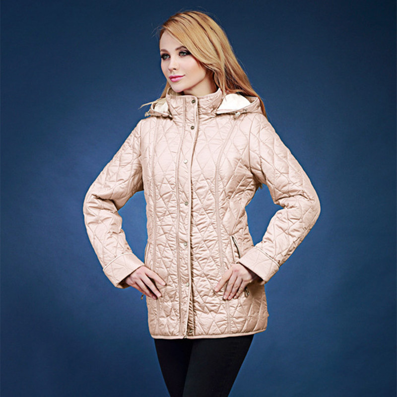 winter jacket women European and USA autumn and winter parka plus thick slim cotton coat with