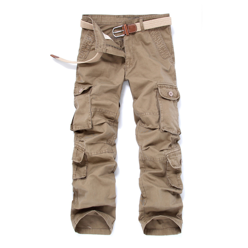 Group-buying!!!! Hot Selling brand 5 color men army military camouflage cargo pants size 28-38 male with fashion style