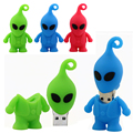 UFO aliens pendrive usb flash drive 64 gb 8 GB 16 GB Memory Stick USB 32 GB pendrive Pen nova 2014 caneta vara disco