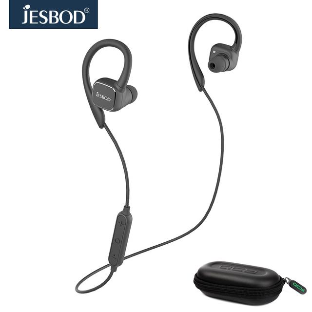 Sistemas de la CAJA de combinación portable QY13 Jesbod Imán interruptor de auriculares deporte auricular bluetooth fone de ouvido y Caja De Almacenamiento