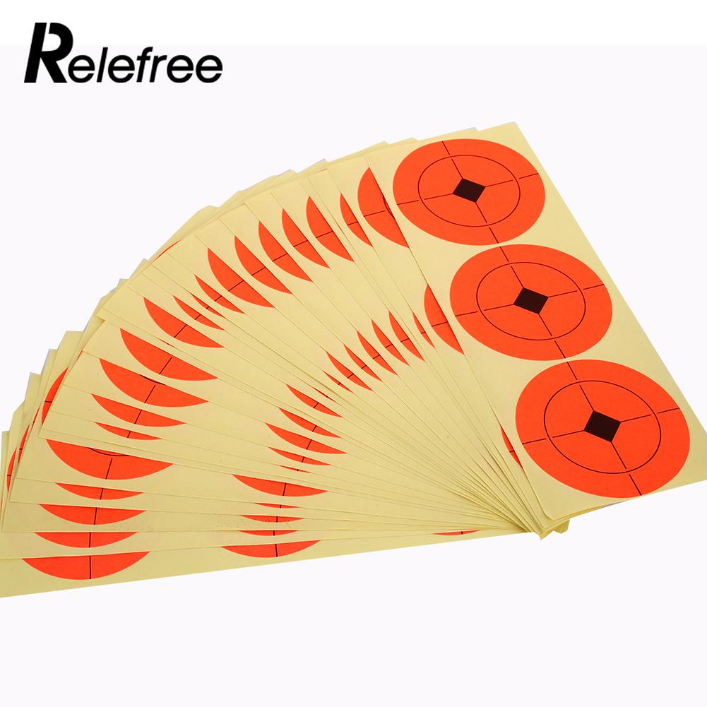 Orange Hunting Bow Self Adhered Target Shooting Range Cheap Target Stickers Outdoor Tool Shooting Target Many ...