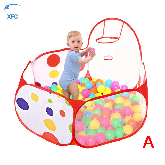New Children Kids Ocean Ball Pit Pool Folding Baby Kids Toy Tent Game Play Hut Indoor  sc 1 st  AliExpress.com & New Children Kids Ocean Ball Pit Pool Folding Baby Kids Toy Tent ...