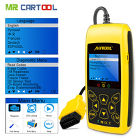 Autool CS520 obd2 scanner auto key programmer car diagnostic tool engine measurement analysis instruments online Code Reader