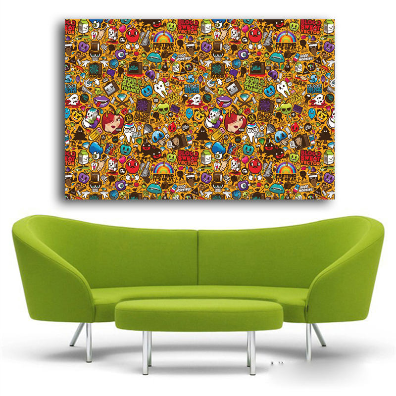 Pop Art Wall Stickers And Pictures Home Decor Modern Andy
