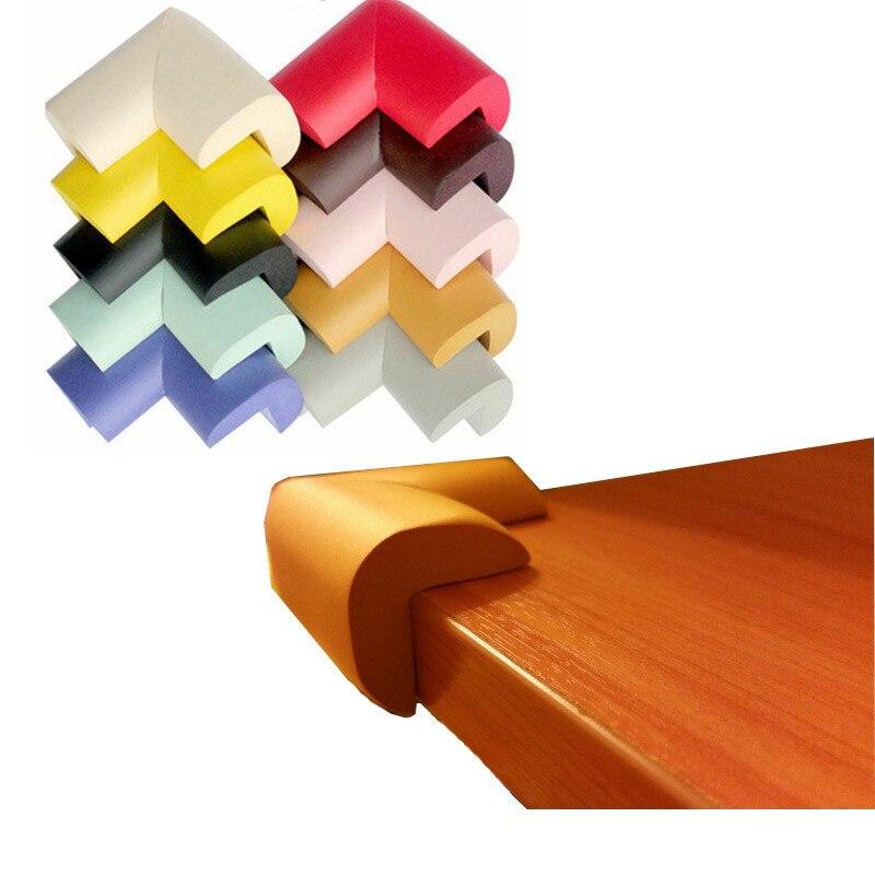 10 Pcs/lot The New Fashion Shape Foam Desk Table Angle & Corner Guards Child Kids Baby Safety HTRQ0256