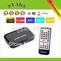 Full HD 1080 p reproductor de medios centro MultiMedia reproductor de vídeo con HDMI VGA AV USB SD/MMC Control remoto Puerto Cable YPbPr mkv H.264
