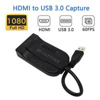 Wiistar HDMI to USB 3.0 Video Capture Dongle 1080P 60FPS Video Audio Grabber Game Recorder for XBOX PS4 Live TV