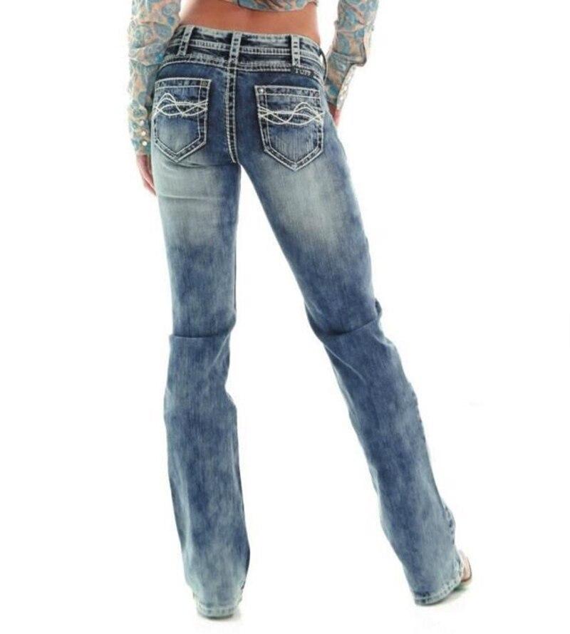 Loose Fit Jeans Basse Femmes Régulière Taille Occasionnels Droits TXZuOPki