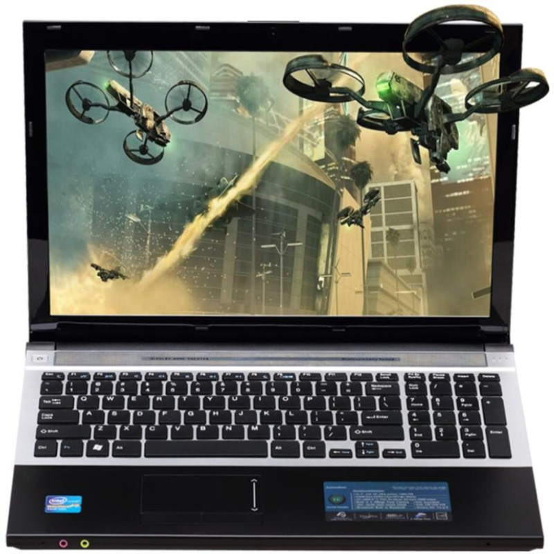 8G RAM 240GB SSD 15.6inch 1920*1080P Intel Core I7 Intel HD Graphics Gaming Laptop Windows 7 Notebook With DVD-RW WIFI Bluetooth