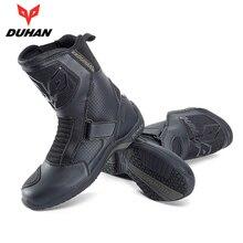 DUHAN/мотоциклетные ботинки; обувь для мотогонок; Bota Motociclista; ботинки для мотокросса и верховой езды