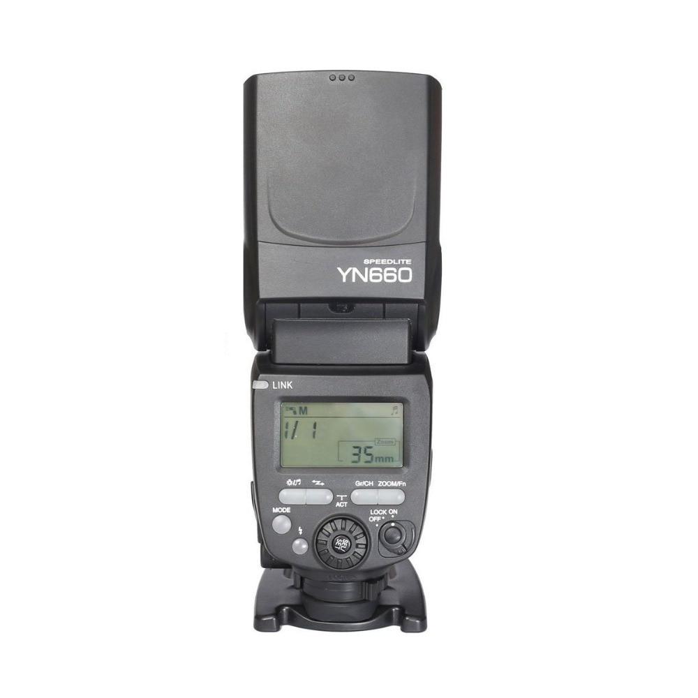 YONGNUO YN660 Wireless Flash Speedlite GN66 2.4G HSS 1/8000s Wireless Radio Master Slave for Canon Nikon Pentax Olympus yongnuo yn685c yn685n flash speedlite gn60 wireless system ttl hss 1 8000s radio slave yn685 for canon nikon yn622n yn622c tx