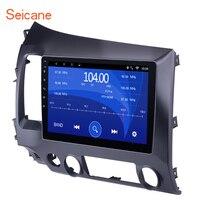 Seicane Android 6,0/7,1/10,1 8,1 2Din автомобильный Радио четырехъядерный WiFi мультимедийный плеер для Honda Civic 2006 2007 208 2010 2009 2011