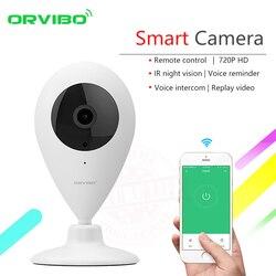 2017 ORVIBO Smart Remote Control Zigbee Wireless Wifi HD 720P Infrared Night Vision CCTV Security Webcam Ants C amera
