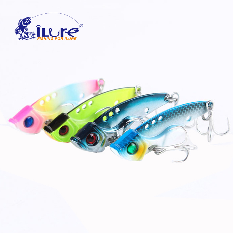 iLure 12g/15g/20g metal vib with high hooks pesca jig artificial bait spoon fishing bait artificial bait cicada lure bass vib fishing lure artificial bait swim bait 135mm 55g sinking 2 segement vib with soft double tail jerk bait