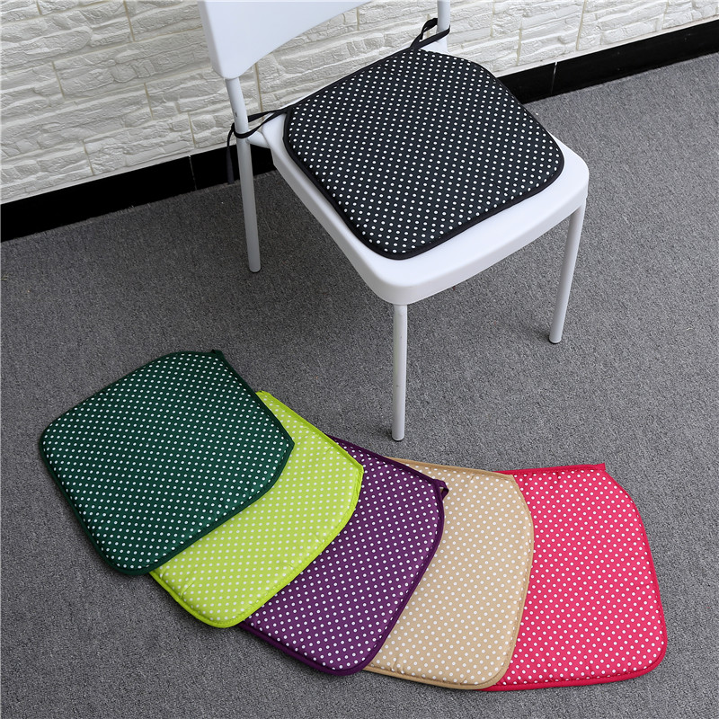 New Cheap 6 Colors Chair Seat Cushion Round Dot Kids Cute Antiskid Pillow Gift Decor Cojin Silla almofada coussin de salon