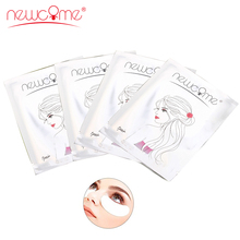 NEWCOME Gel Pads Under Eye Lint Free Eye Pad Gel Patch Eyelash Extension Eye Pads Fake Lash Made by Hydrogel Eye Patches Make Up newcome 100pairs lot eyelash extension eye pad patches eyelash extension under eye pads paper patches lint free stickers make up