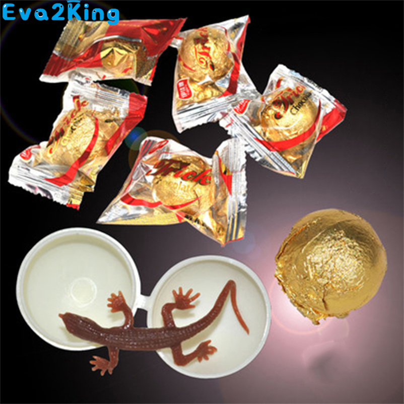 Prank Chewing Gum Chocolate Novelty Funny Prank Surprising Magic Props Horror Surprise Insect Kids Toys April Fools Day