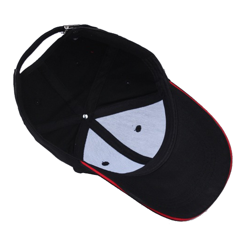 2019 High Quality GTI Letter Embroidered Baseball Cap Black Casual Hat  Spring Man Woman Trucker Cotton Adjustable Sport Bone-in Baseball Caps from  Apparel ... 0f6c1b61744