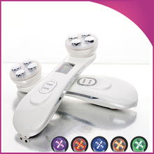 Portable Best RF Radio Frequency Skin Tighteing Face Lifting Facial Rejuvenation Microcurrent Face Massager