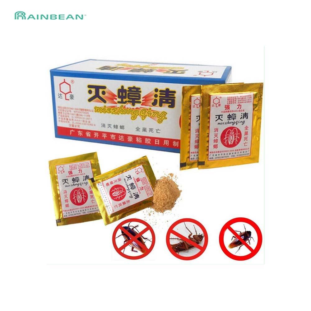 10PCS/Lot Effective Killer Cockroach Powder Bait Special Insecticide Bug Beetle Cucaracha Medicine Insect Reject Pest Control