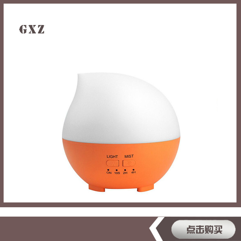 цена на Water Droplets Aromatherapy Machine USB Humidifier Essential Oil Diffuser Colorful Night Light