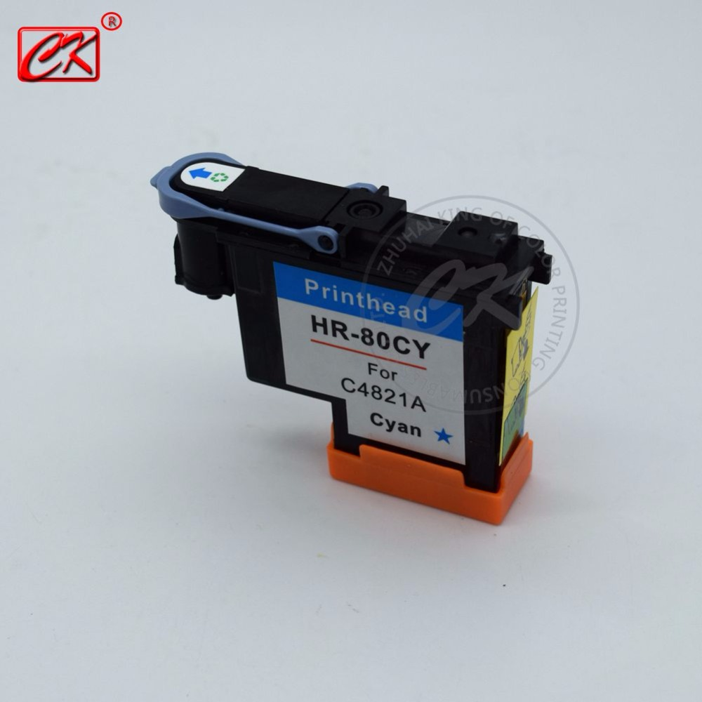 ФОТО 1Piece remanufactured HR80  Cyan Printhead(C4821A) for Designjet 1000 1000plus 1050 1055