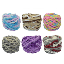 10 Pcs / Lot Thick soft wool yarn for hand knitting Threads Hand Knit lanas para tejer Cotton Crocheting Wool Needles Hand-woven