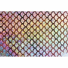 Tigofly 6 pcs 10X21cm Holographic Adhesive Film Flash Artificial Fish Scale Skin Jig Sticker Hard Baits Lures sticker Fly Tying