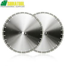 цена на SHDIATOOL 2pcs Dia 16 inch/414mm Laser Welded Arrayed Diamond Blade Cutting Disc Saw blades Reinforced Concrete Diamond Wheel