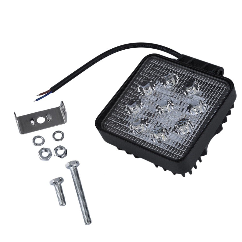 SUV Epistar 27W LED Light Spot Flood Combo Beam Truck Trailer LED Light LED Light 27W Waterproof Light