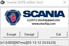 ENCRYPTOR de fichier SOPS/DECRYPTOR (éditeur) forScania