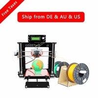 Geeetech I3 Pro C Dual MK8 Extruders Upgraded Quality High Precision Reprap Prusa DIY Printing Kits
