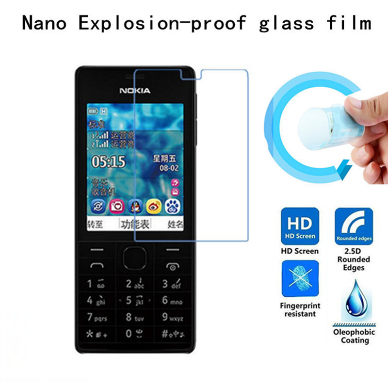 Soft Explosion-proof Nano Protection Film Foil for Nokia 515 N515 Film Screen Protector Not Tempered Glass