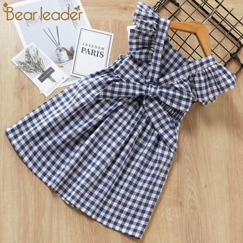 Girls Dresses New Baby Bowsuit Children's Neckline Camisole Dress Child Tassel Princess Dress 1