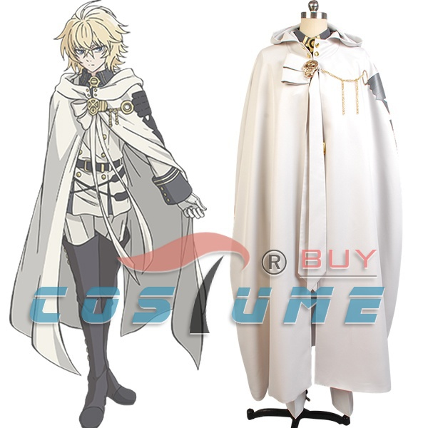 Owari no Seraph of the End Mikaela Hyakuya Cosplay Costume Attire Outfit Uniform