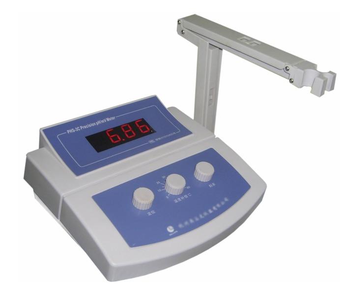 Benchtop Lab pH Meter Tester Bench top 1 99 19 99ph bench lab digital ph meter with orp