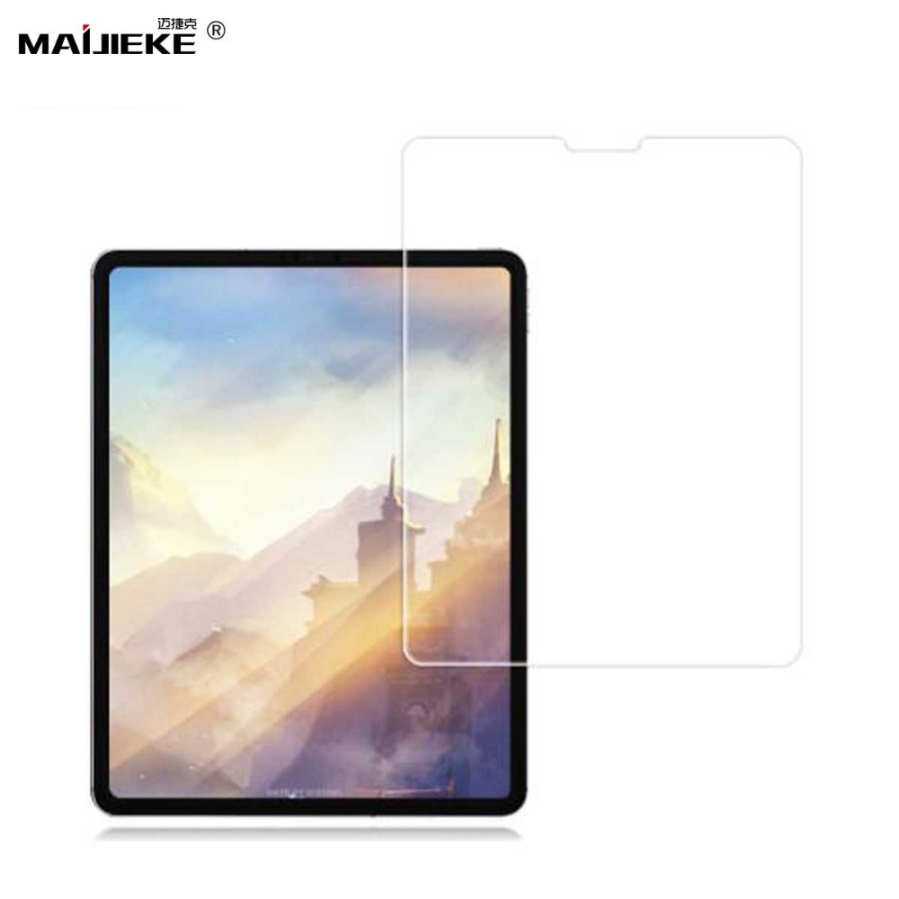 MAIJIEKE HD Tempered Glass For Apple iPad Pro 11 2018 Tablet Screen Protector Film for ipad pro 12.9 2018 Tab Glass Cover