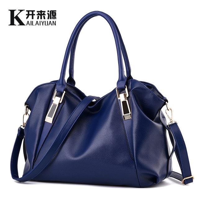 80686a940661 100% Genuine leather Women handbags 2018New bag ladies classic casual  fashion handbag Crossbody Bag female